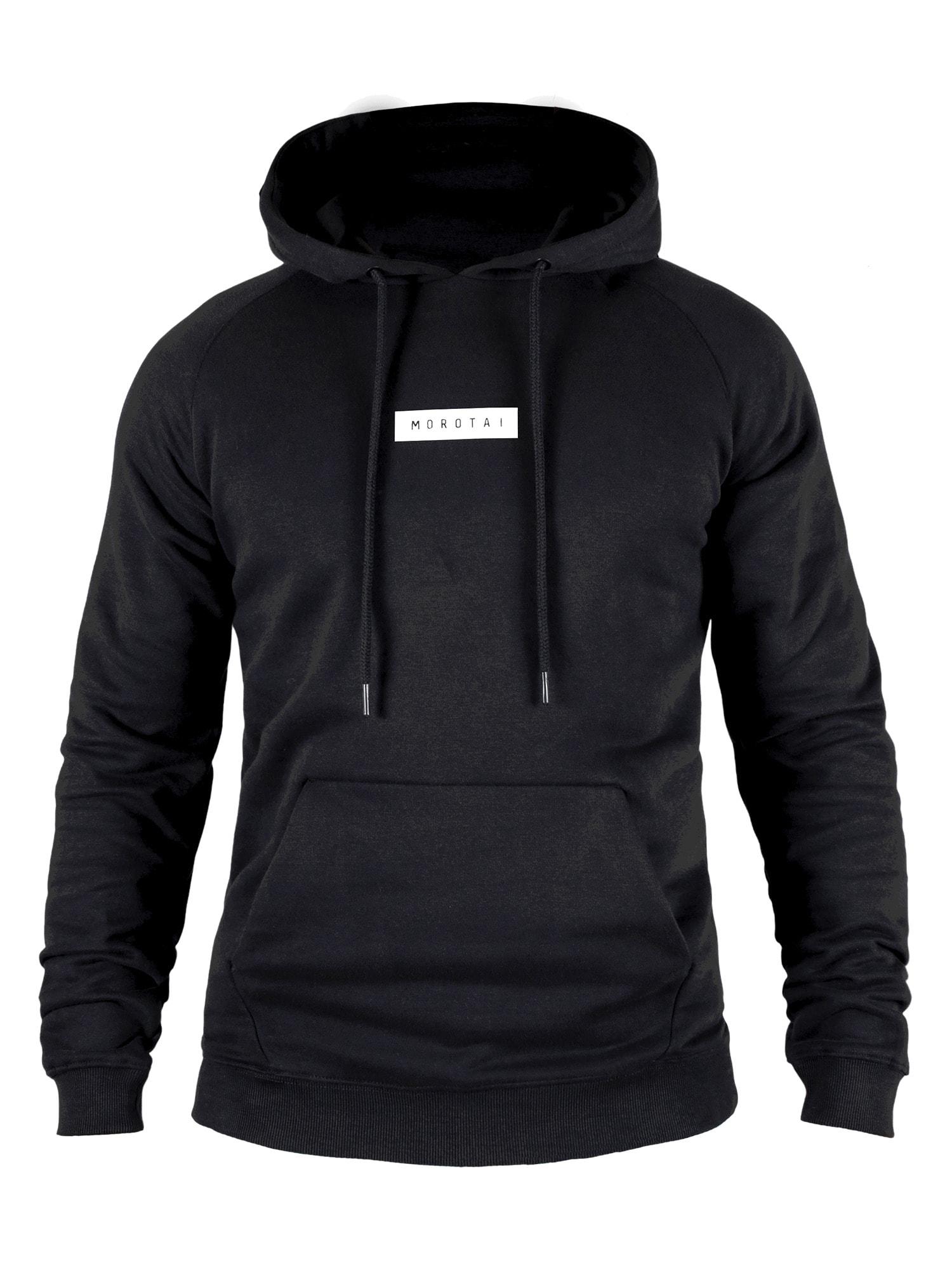 MOROTAI Sportinio tipo megztinis ' Small Bloc Logo Hoodie ' juoda