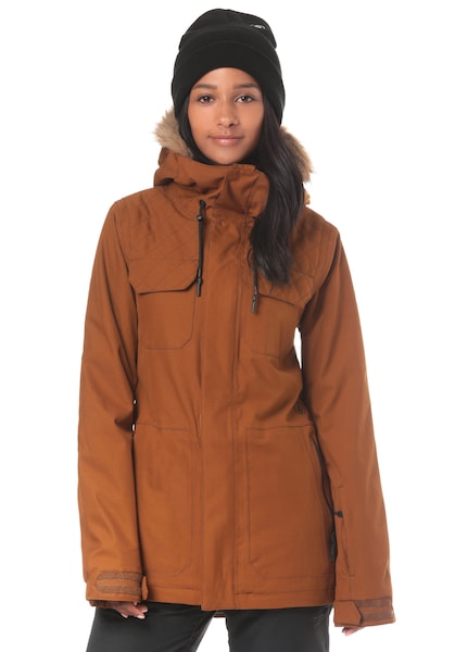 Jacken für Frauen - Volcom 'Shadow Ins' Snowboardjacke cognac  - Onlineshop ABOUT YOU