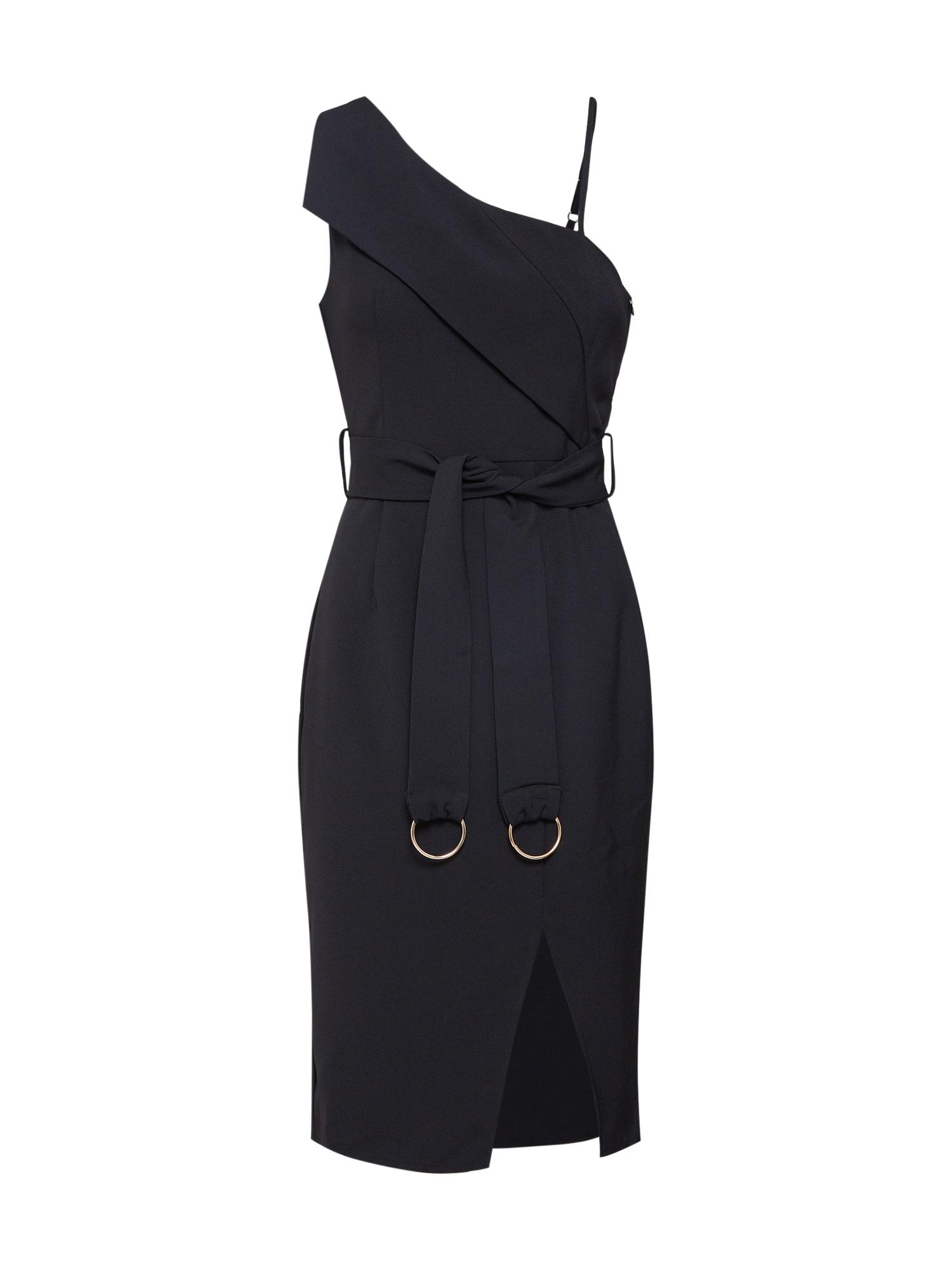 Šaty HUNTER černá 4th & Reckless