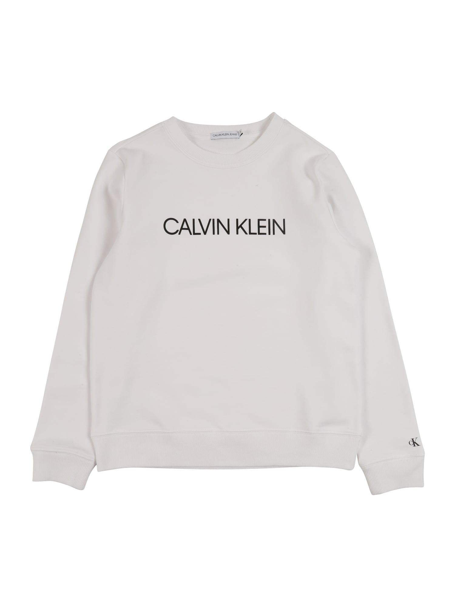 Calvin Klein Jeans Megztinis be užsegimo balta