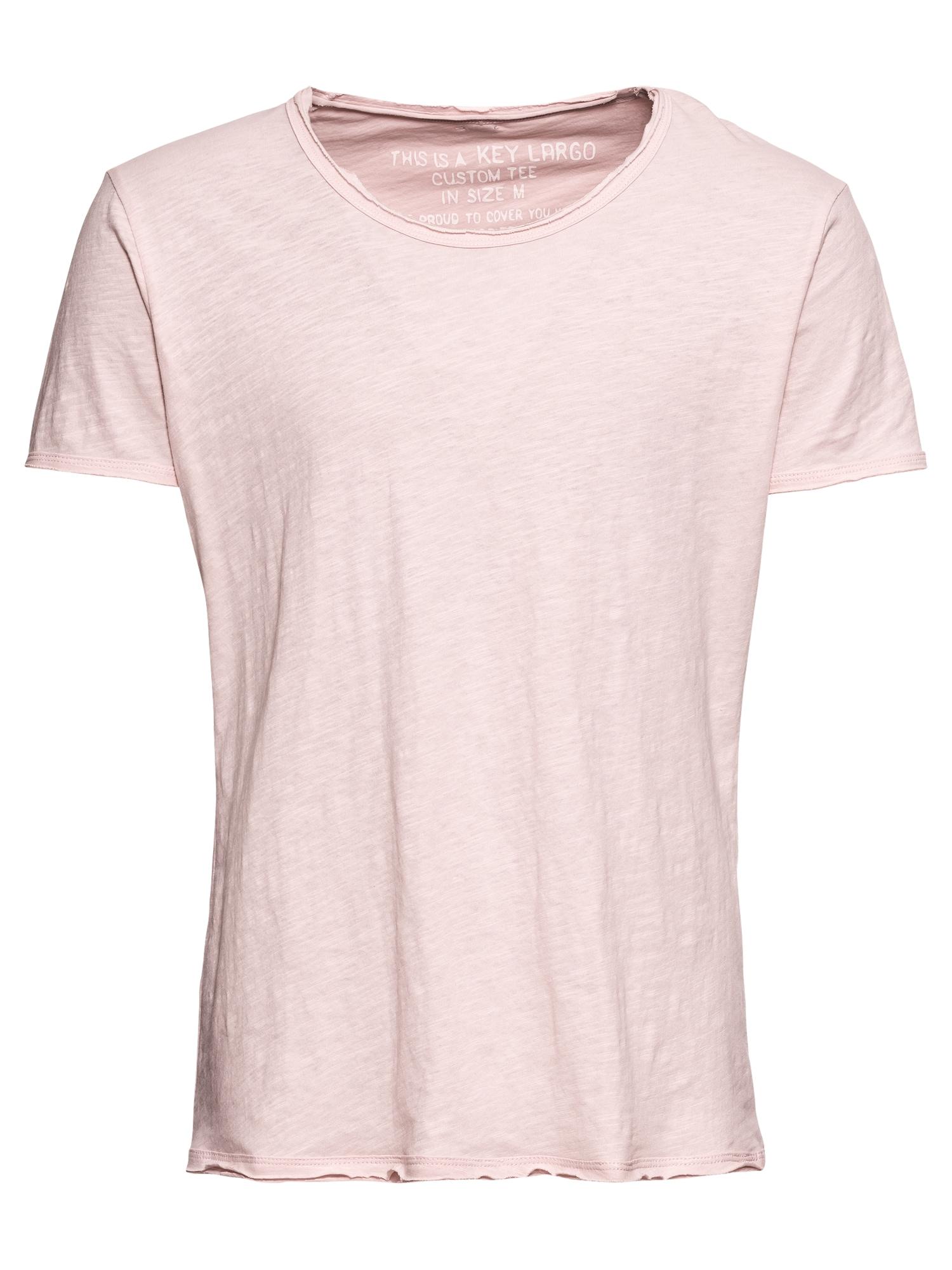 Key Largo Marškinėliai 'T BREAD' rožių spalva