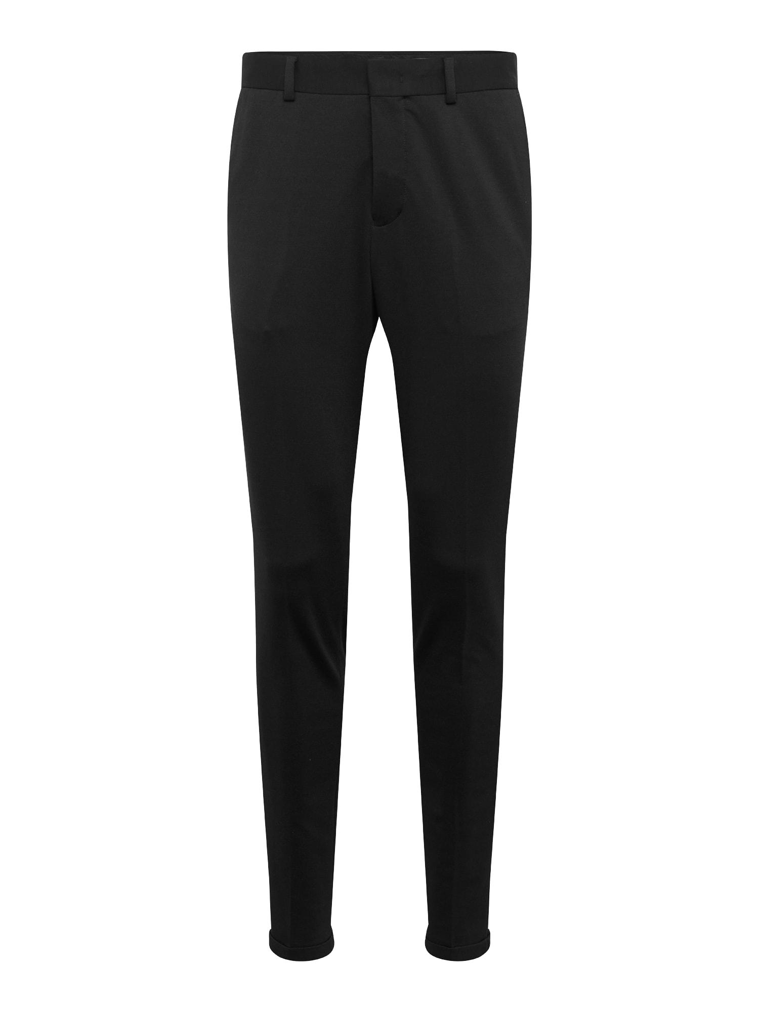 Kalhoty s puky NOOS B černá SELECTED HOMME