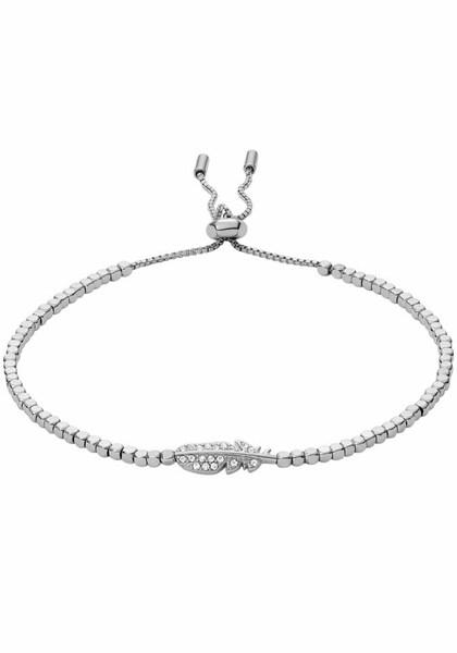 Armbaender für Frauen - FOSSIL Edelstahl armband 'Feder, VINTAGE MOTIFS, JA6933040' silber  - Onlineshop ABOUT YOU
