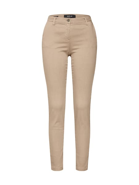 Hosen für Frauen - REPLAY Hose 'LYSA' beige  - Onlineshop ABOUT YOU