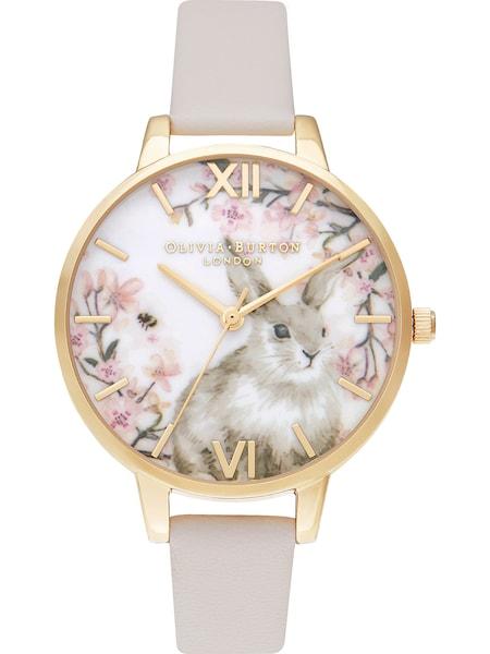 Uhren für Frauen - Damenuhr 'Pretty Blossom' › Olivia Burton › camel gold rosa weiß  - Onlineshop ABOUT YOU