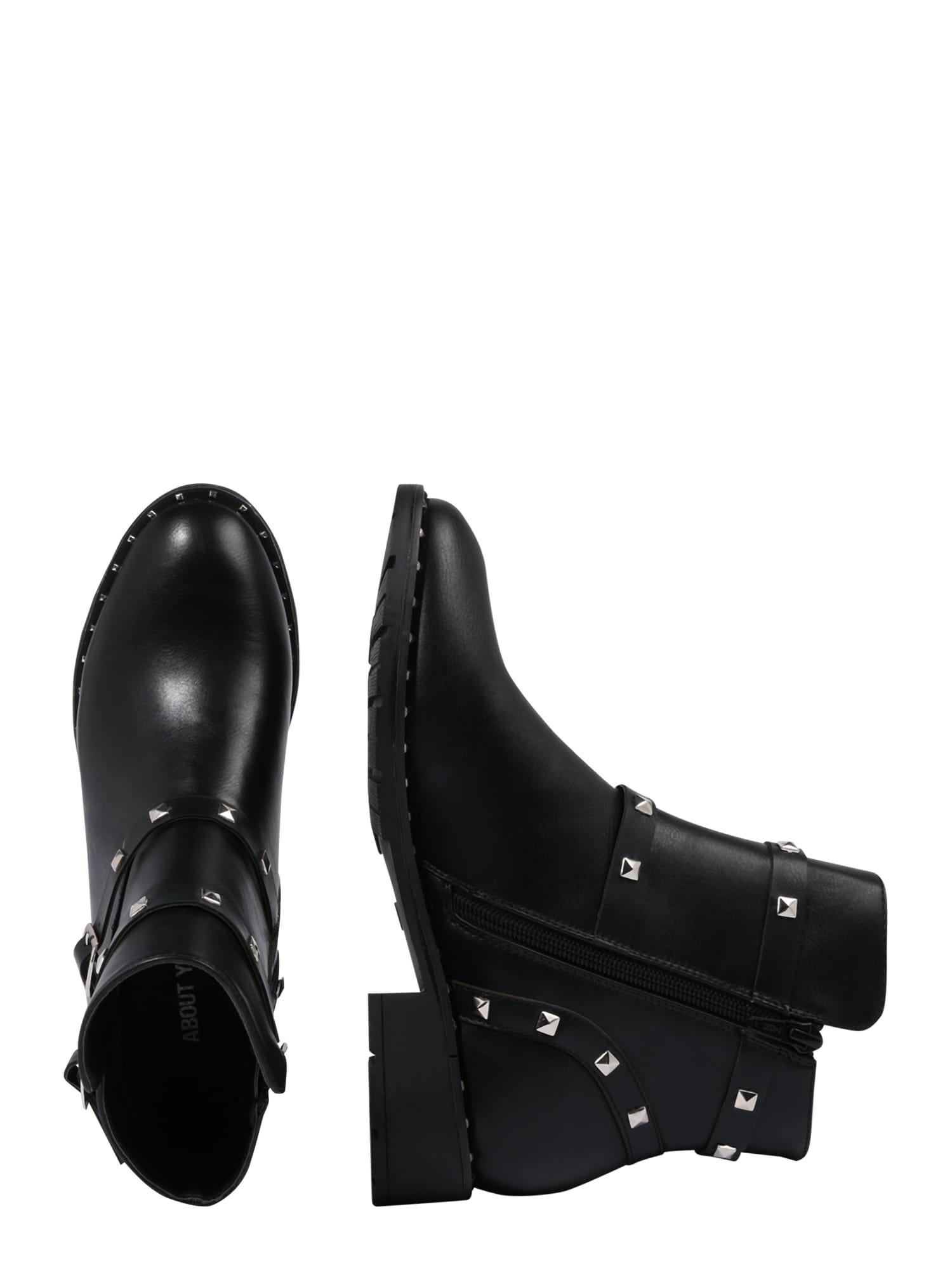 ABOUT YOU Boot 'Ecrin'  svart