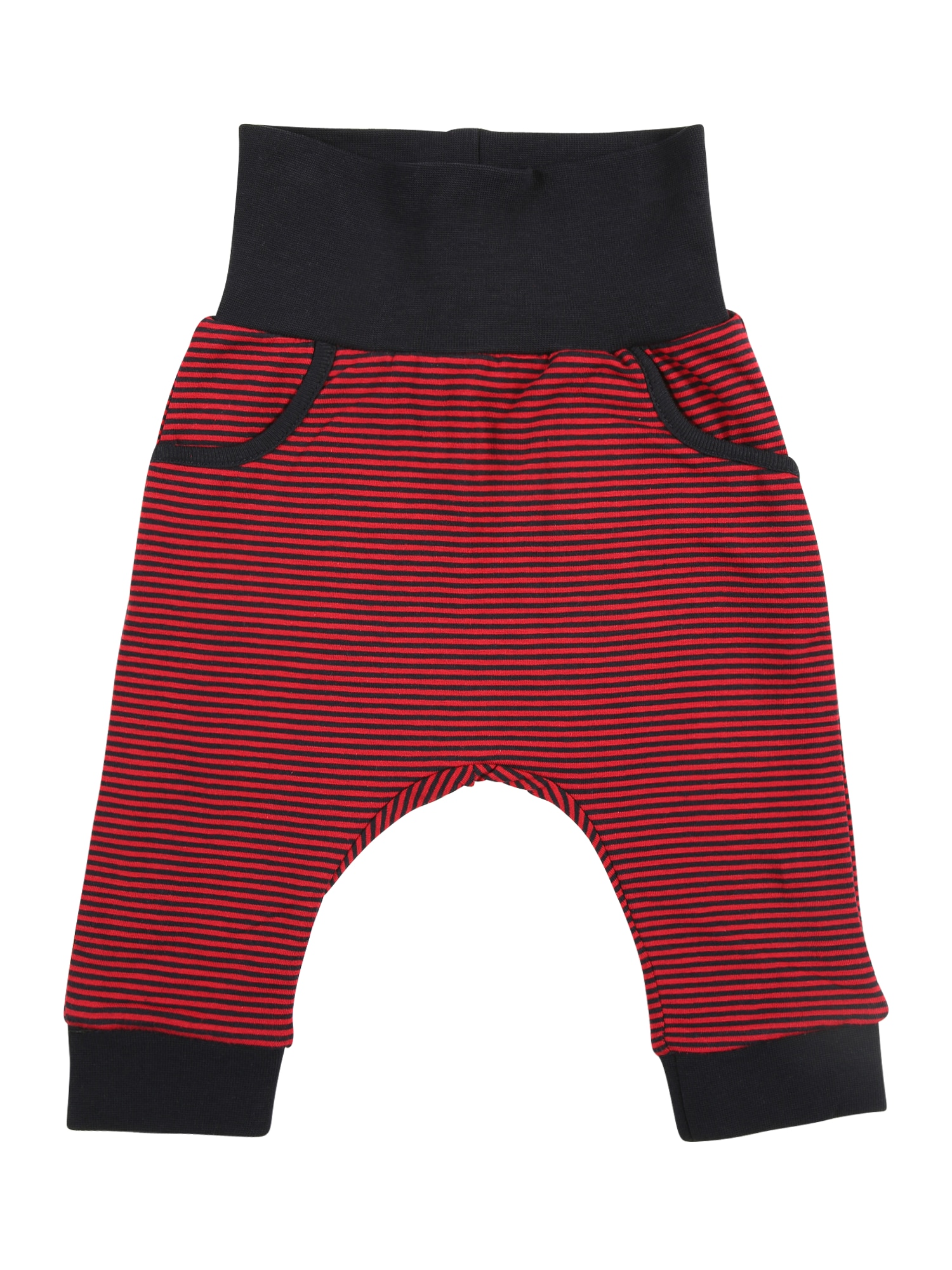Steiff,Steiff Collection Kinder,Jungen Jerseyhose mit Teddy-Applikation blau,rot | 04056178842863