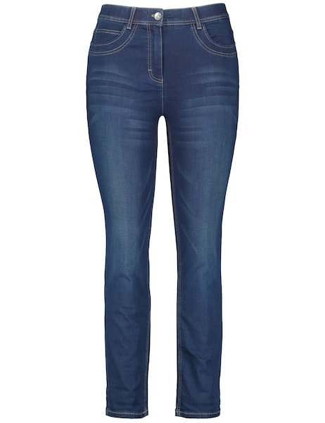Hosen - Jeans 'Betty' › SAMOON › blau  - Onlineshop ABOUT YOU