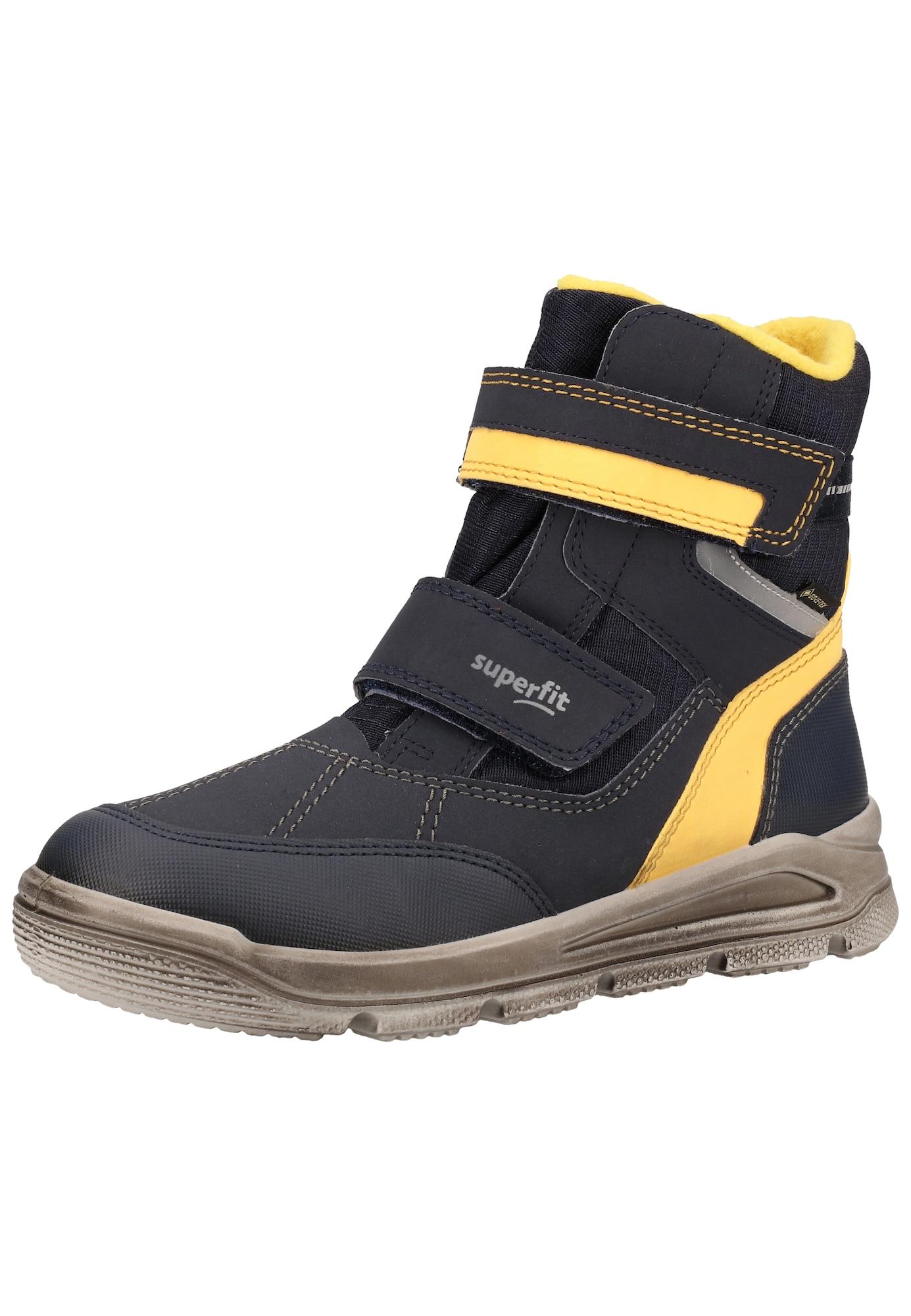 SUPERFIT Sniego batai geltona / nakties mėlyna