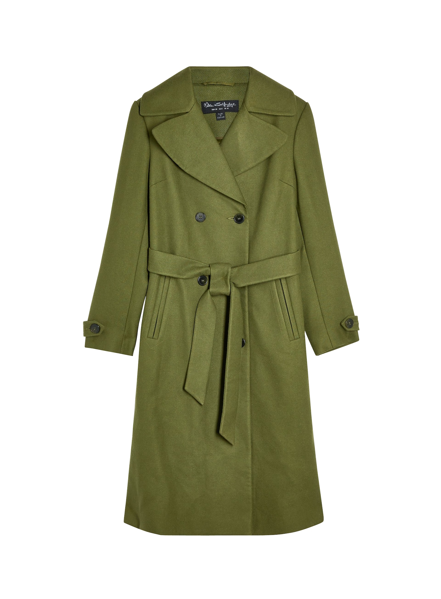 Miss Selfridge Rudeninis-žieminis paltas žalia