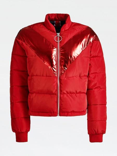 Jacken für Frauen - GUESS Wattierte Jacke hellrot  - Onlineshop ABOUT YOU