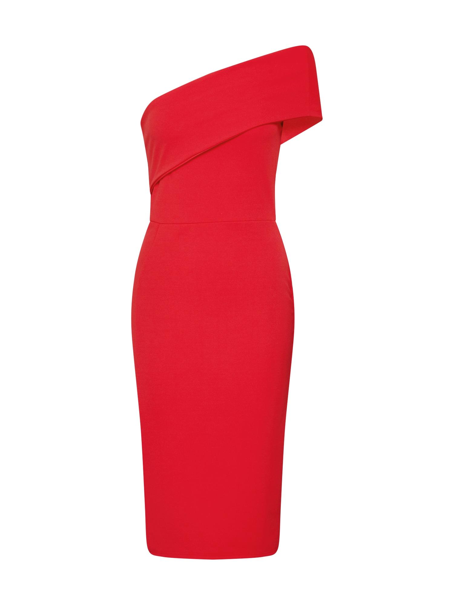 Missguided Šaty  červená