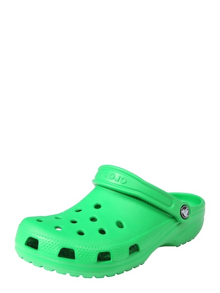 Clogs für Frauen - Crocs Clogs 'Classic W' grün  - Onlineshop ABOUT YOU