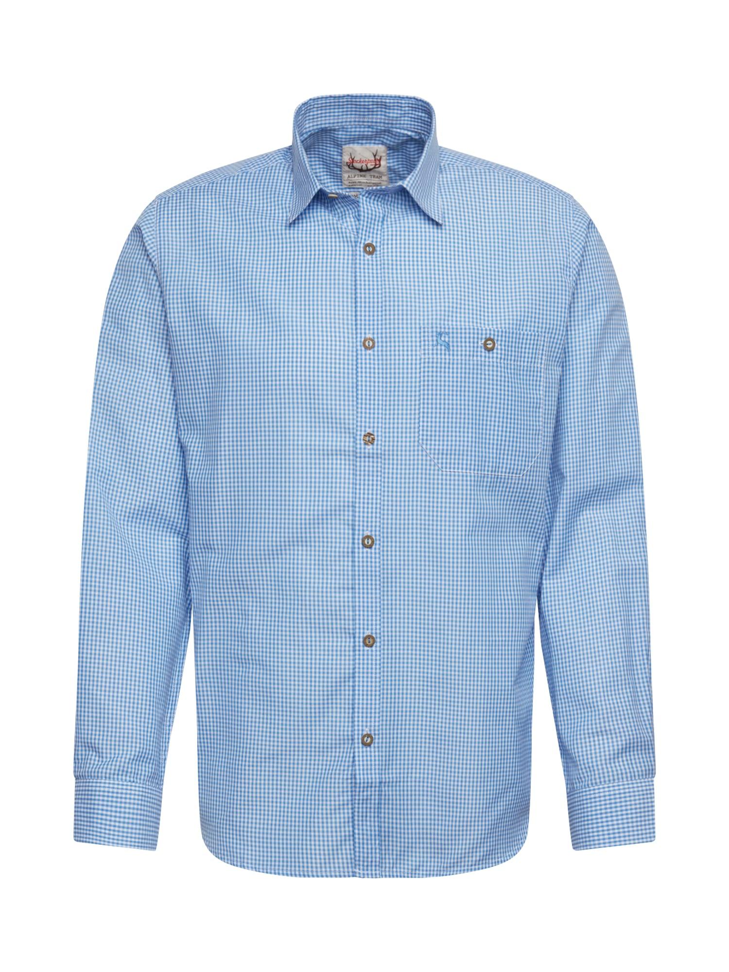 STOCKERPOINT Krojová košeľa 'Dave'  azúrová