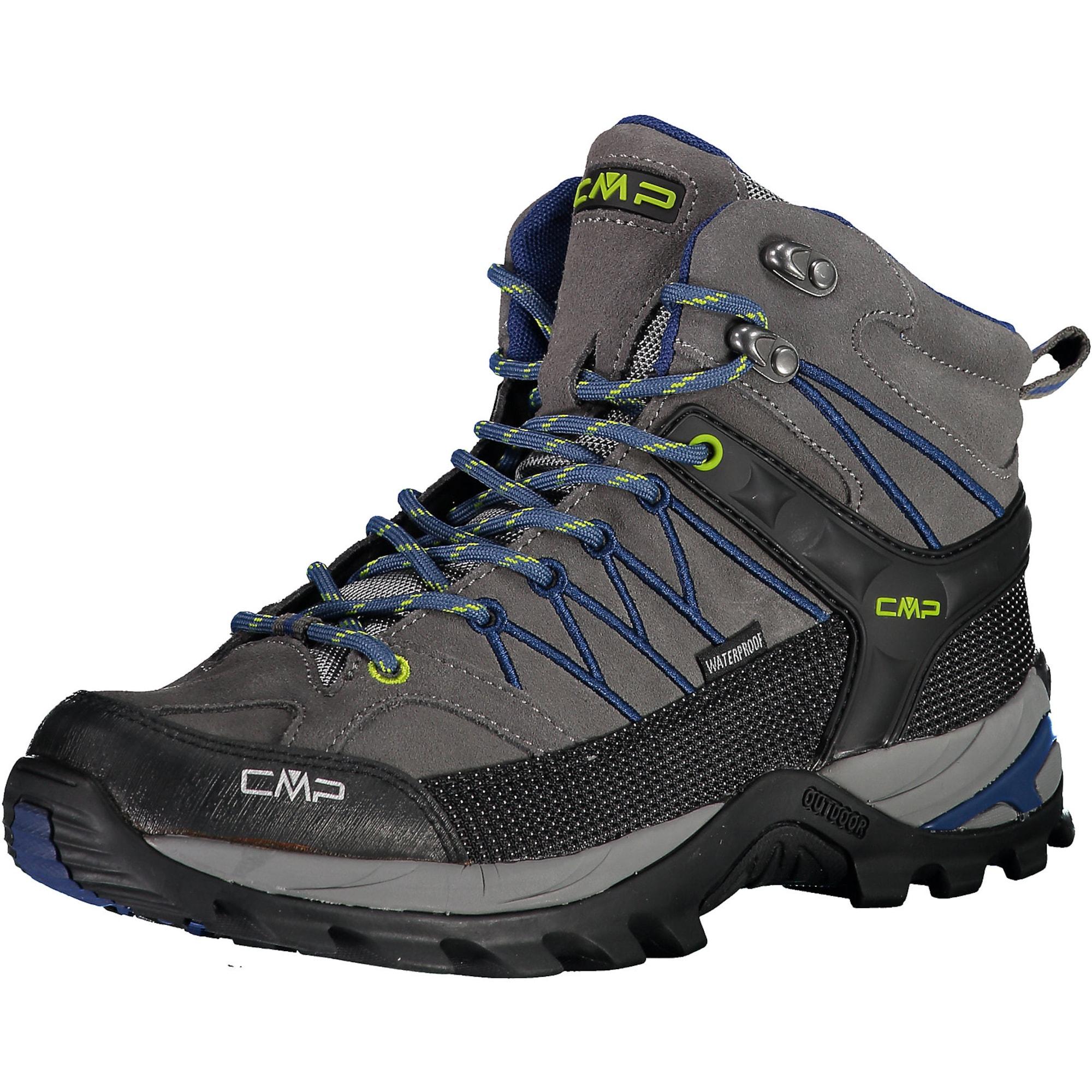 CMP Auliniai batai juoda / tamsiai mėlyna / tamsiai pilka / nendrių spalva