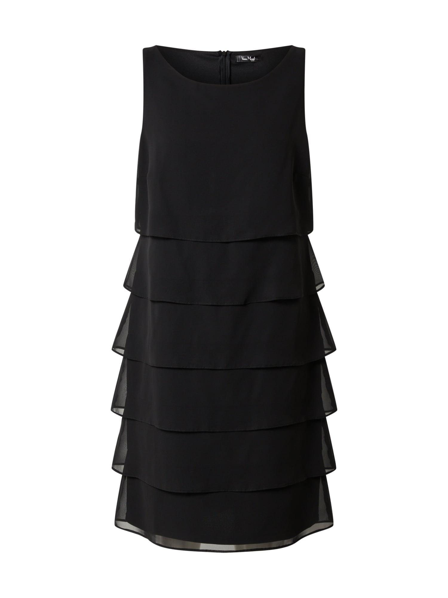 Vera Mont Kokteilinė suknelė juoda