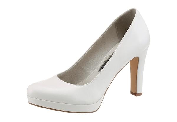 Highheels für Frauen - TAMARIS High Heel Pumps weiß  - Onlineshop ABOUT YOU