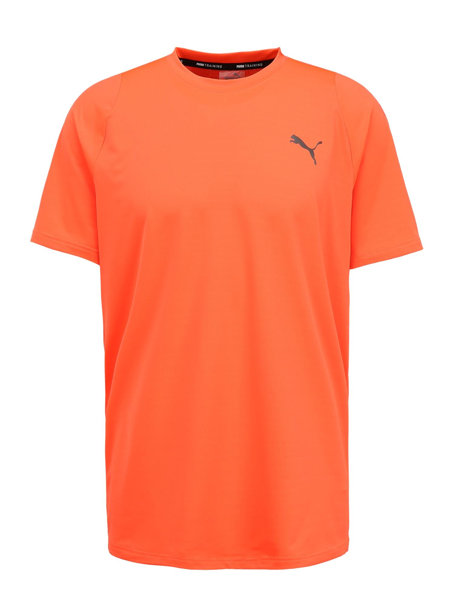PUMA Funkčné tričko 'Power'  oranžová