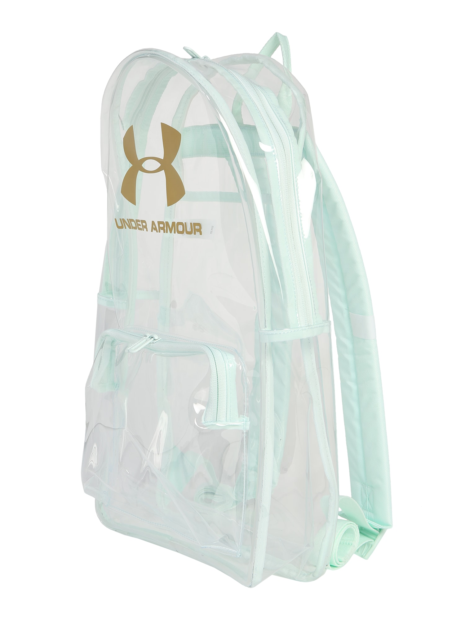 UNDER ARMOUR Sportinė kuprinė 'UA Loudon Clear Backpack' skaidri spalva