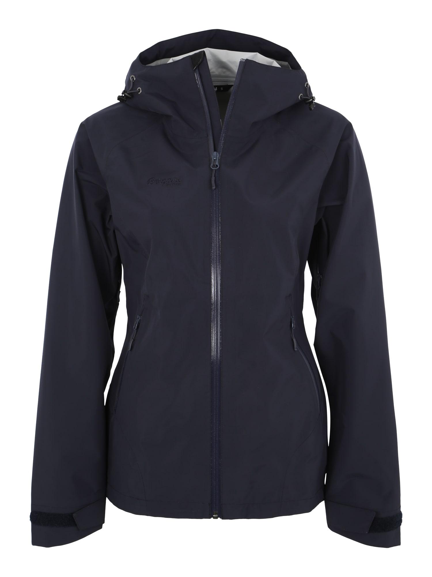 Outdoorová bunda Ramberg 3-Layer W tmavě modrá Bergans