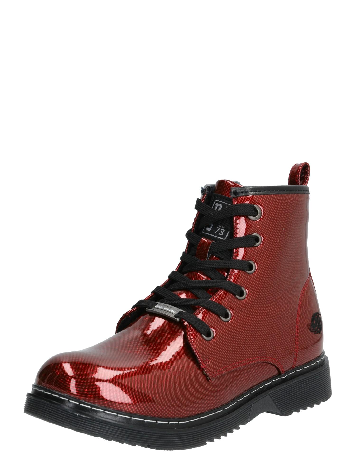 Dockers by Gerli Auliniai batai su kulniuku '43CU739' raudona