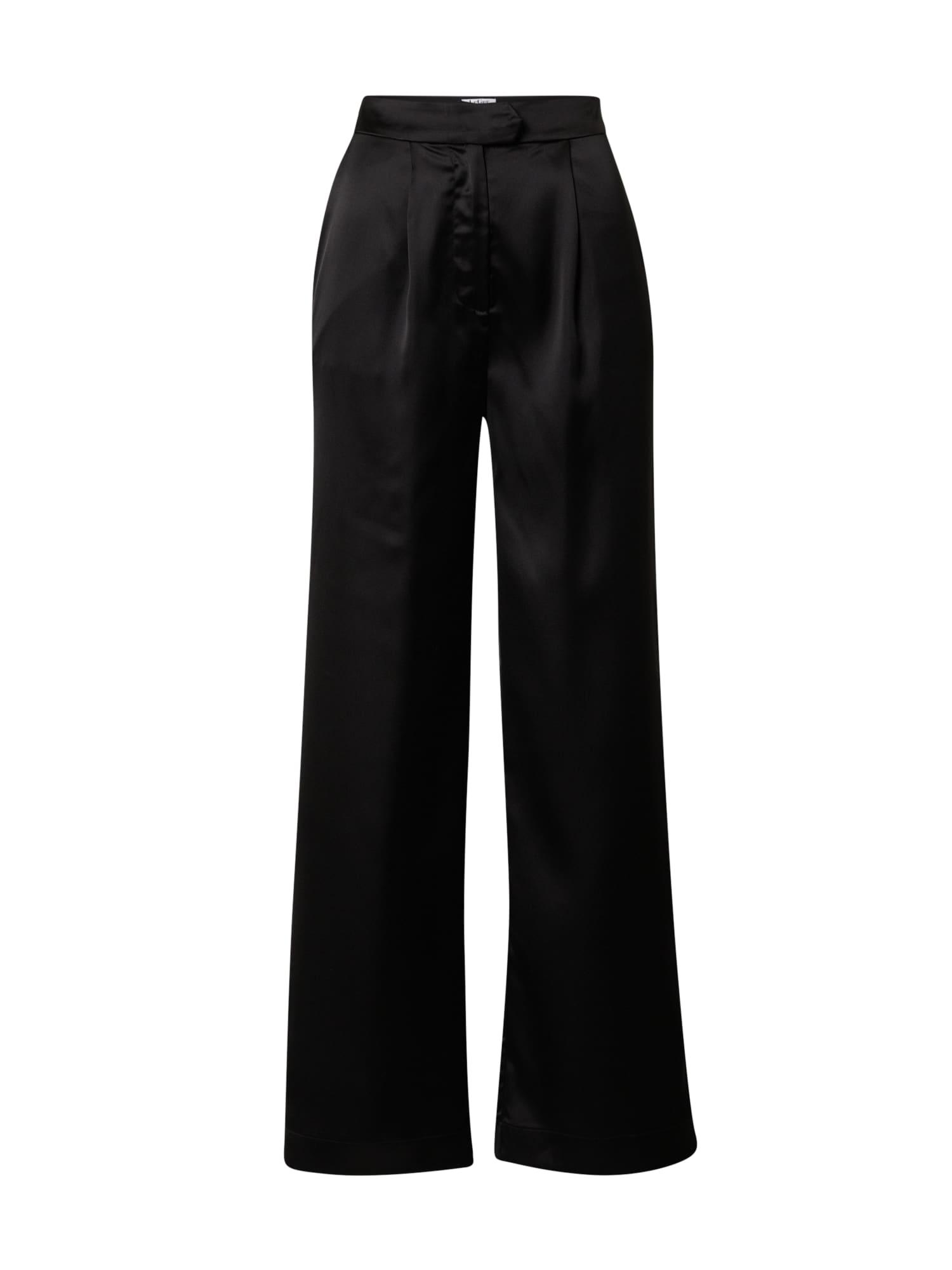 LeGer by Lena Gercke Klostuotos kelnės 'Sandra' juoda