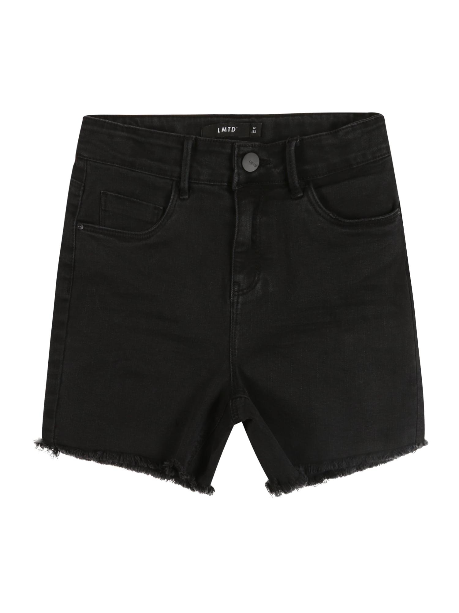 LMTD Džinsai juodo džinso spalva