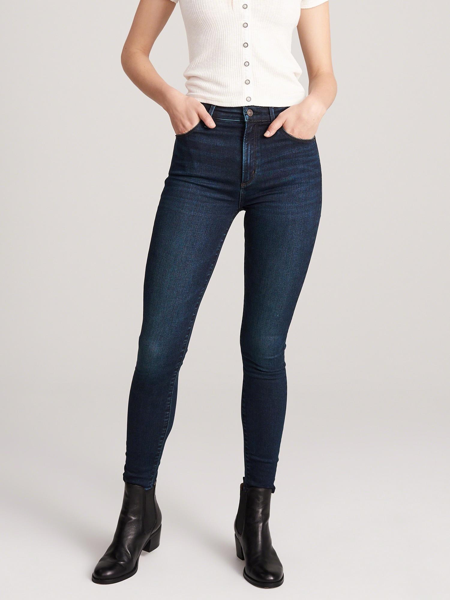Abercrombie & Fitch Jeans 'SIMONE'  blå denim
