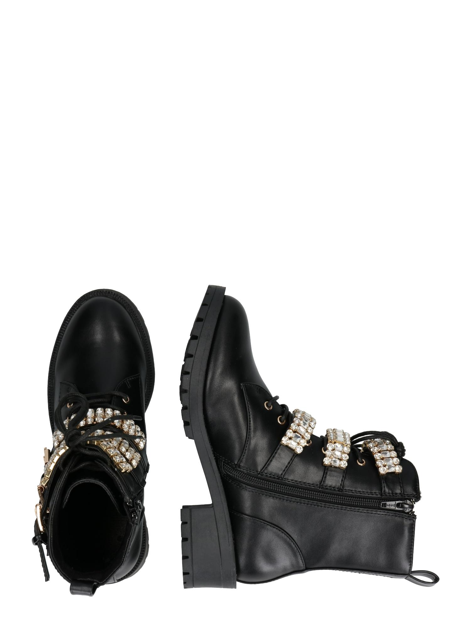 Bianco, Damen Boots CLAIRE, zwart