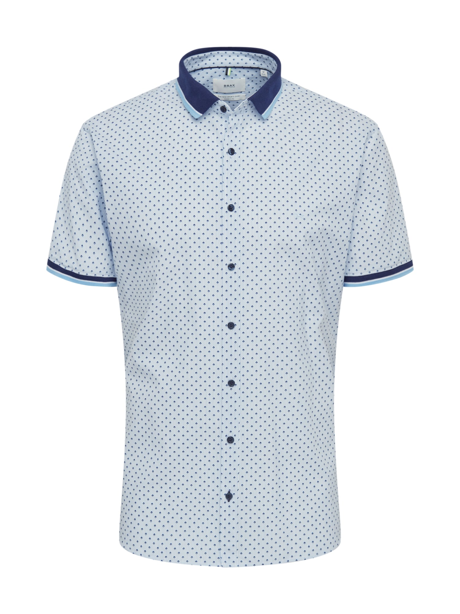BRAX Dalykiniai marškiniai 'Luke' mėlyna