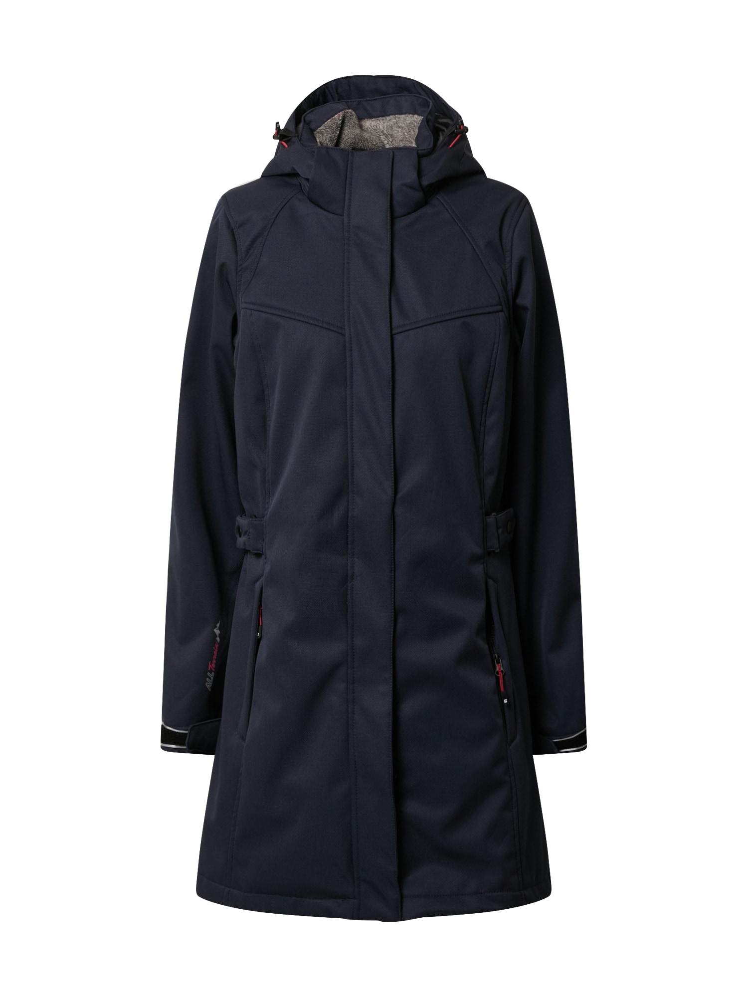 KILLTEC Outdoorový kabát  námořnická modř