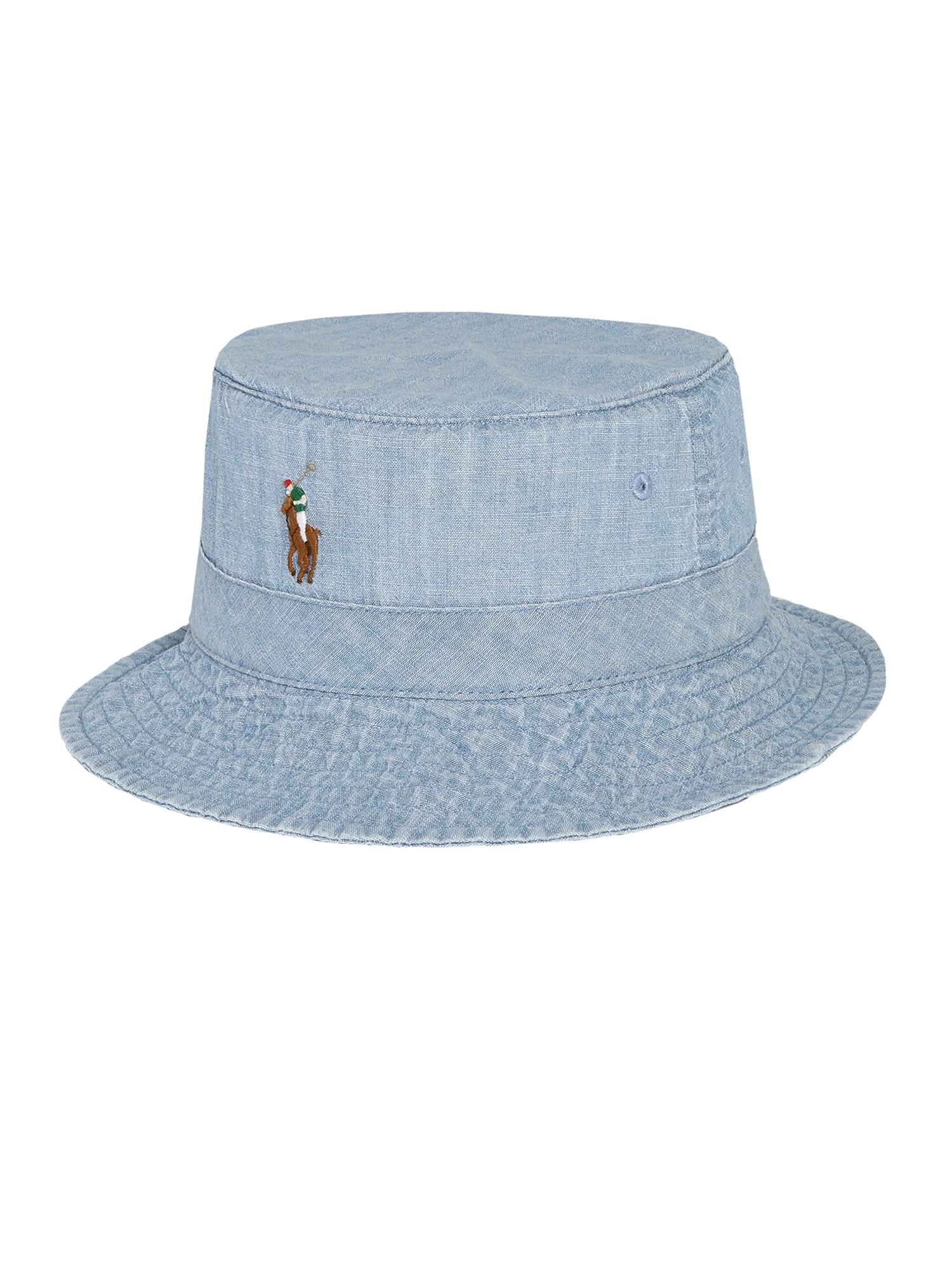 POLO RALPH LAUREN Čiapky 'BUCKET HAT'  modré / černicová