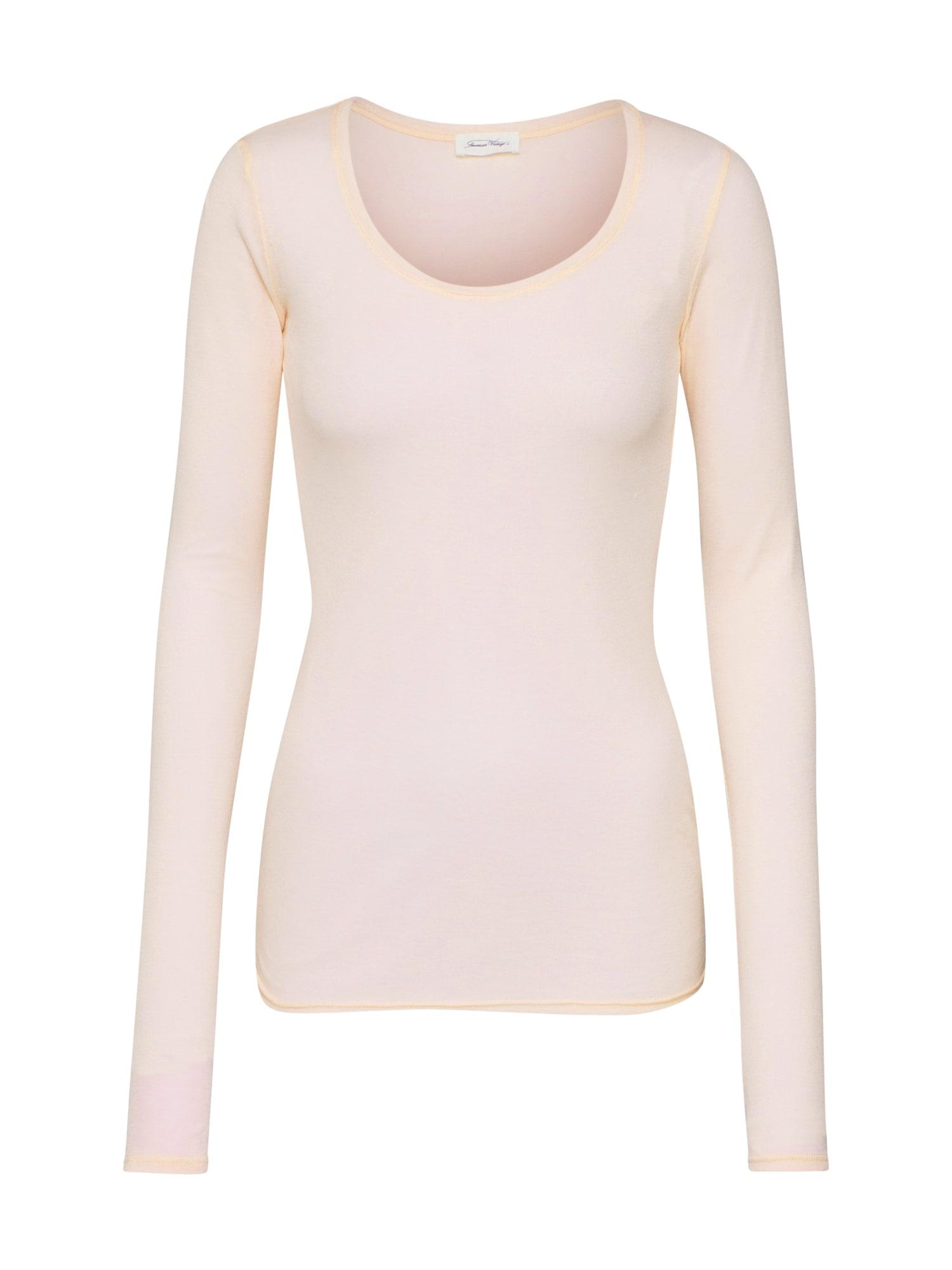 AMERICAN VINTAGE Marškinėliai 'Massachusetts' rožinė