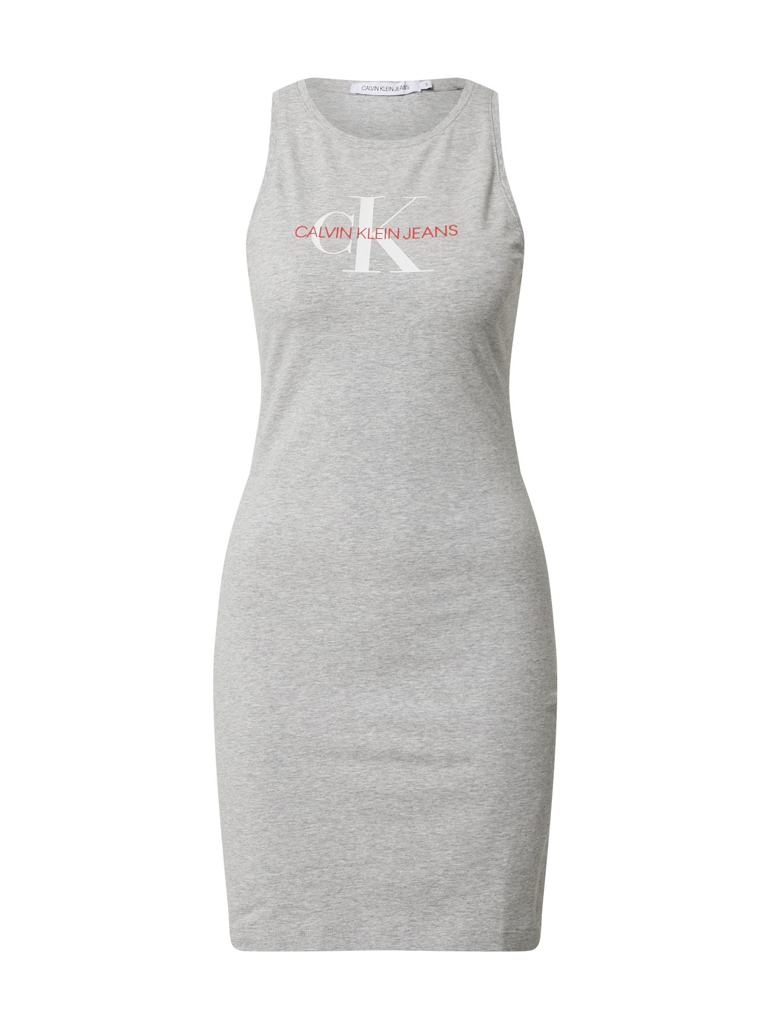 Calvin Klein Jeans Suknelė margai pilka