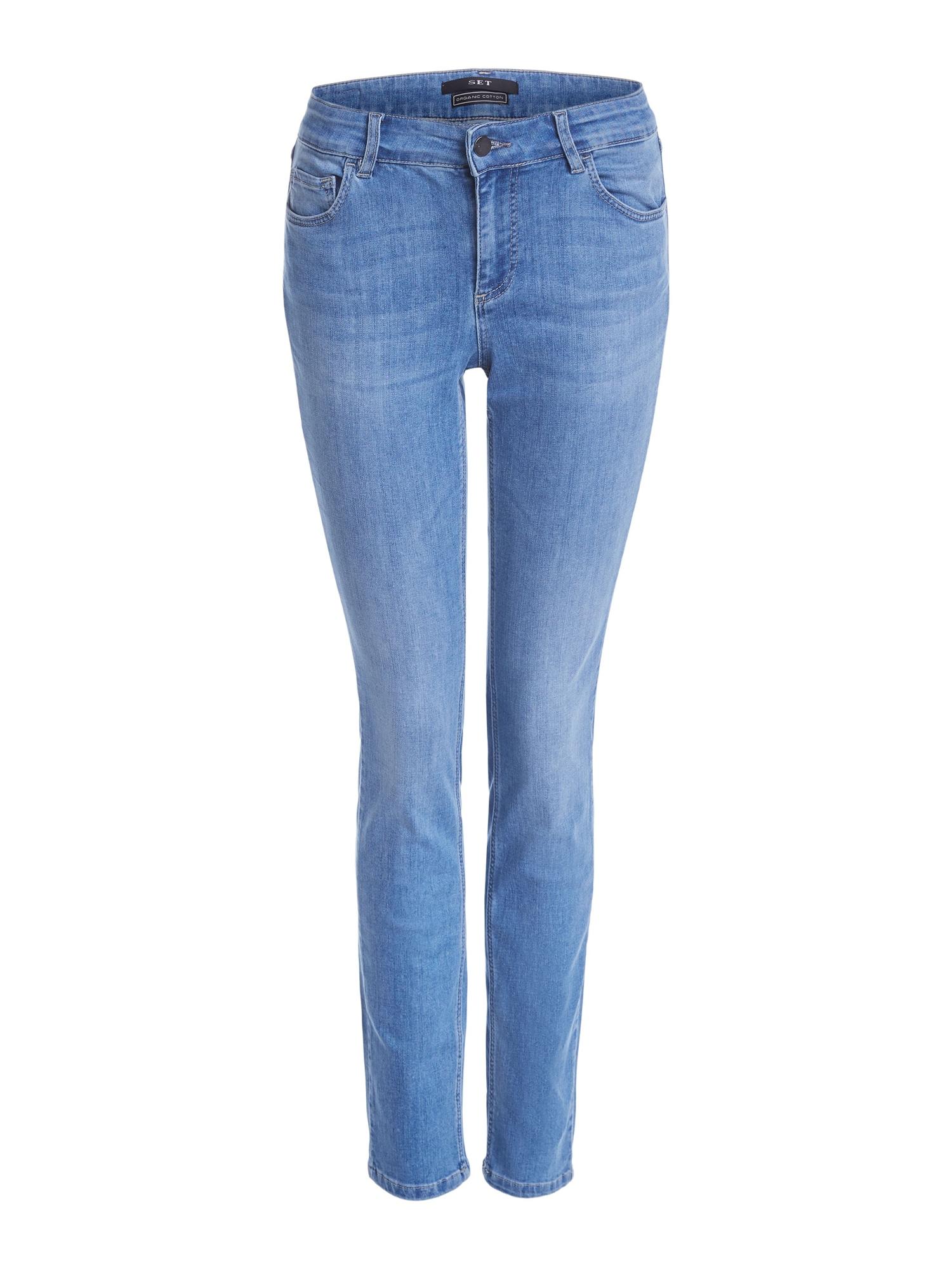 SET Džinsai tamsiai (džinso) mėlyna