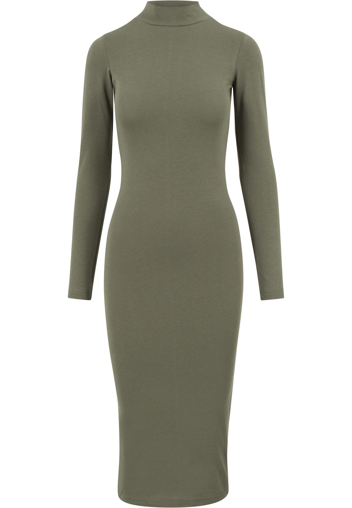 Urban Classics Suknelė rusvai žalia