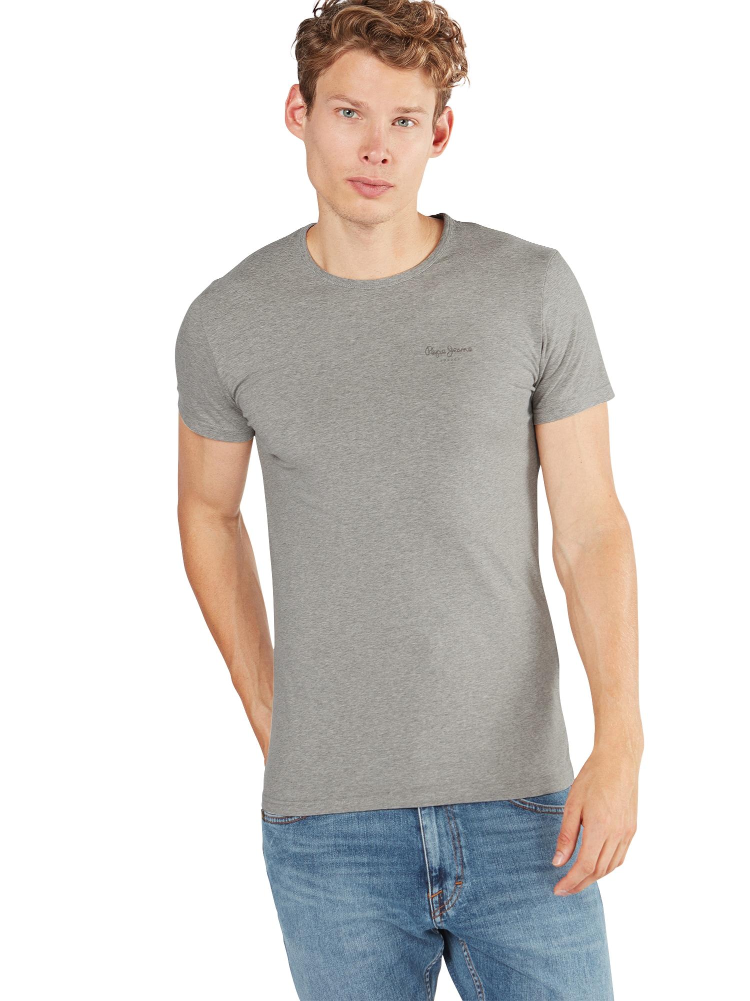Pepe Jeans T-shirt 'ORIGINAL BASIC S/S'  gråmelerad