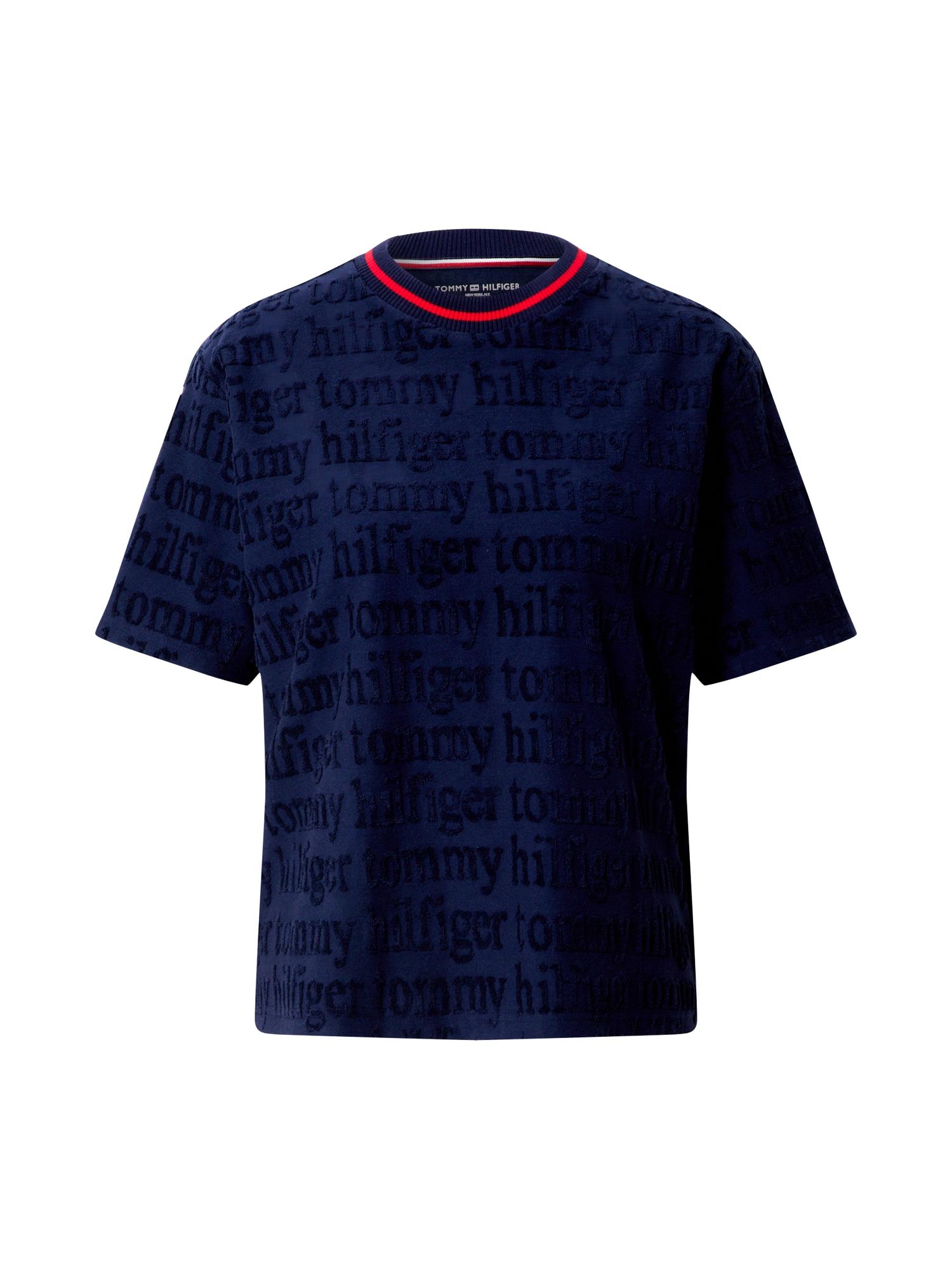 Tommy Hilfiger Underwear Tričká na spanie  námornícka modrá