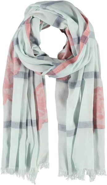 Schals für Frauen - Passigatti Schal azur grau rosa  - Onlineshop ABOUT YOU