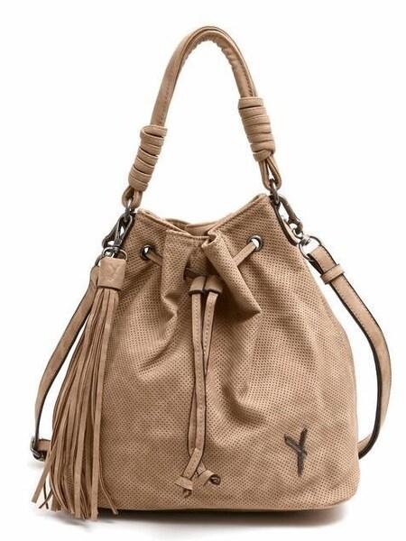 Shopper für Frauen - Suri Frey Beuteltasche 'ROMY' camel  - Onlineshop ABOUT YOU