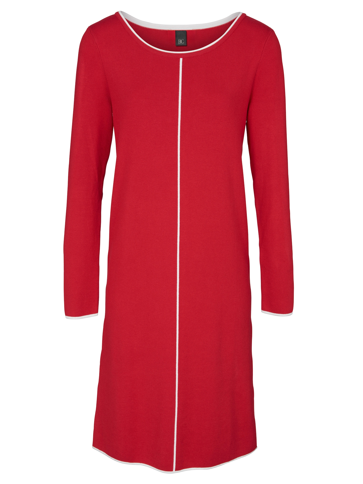 heine Megzta suknelė balta / raudona