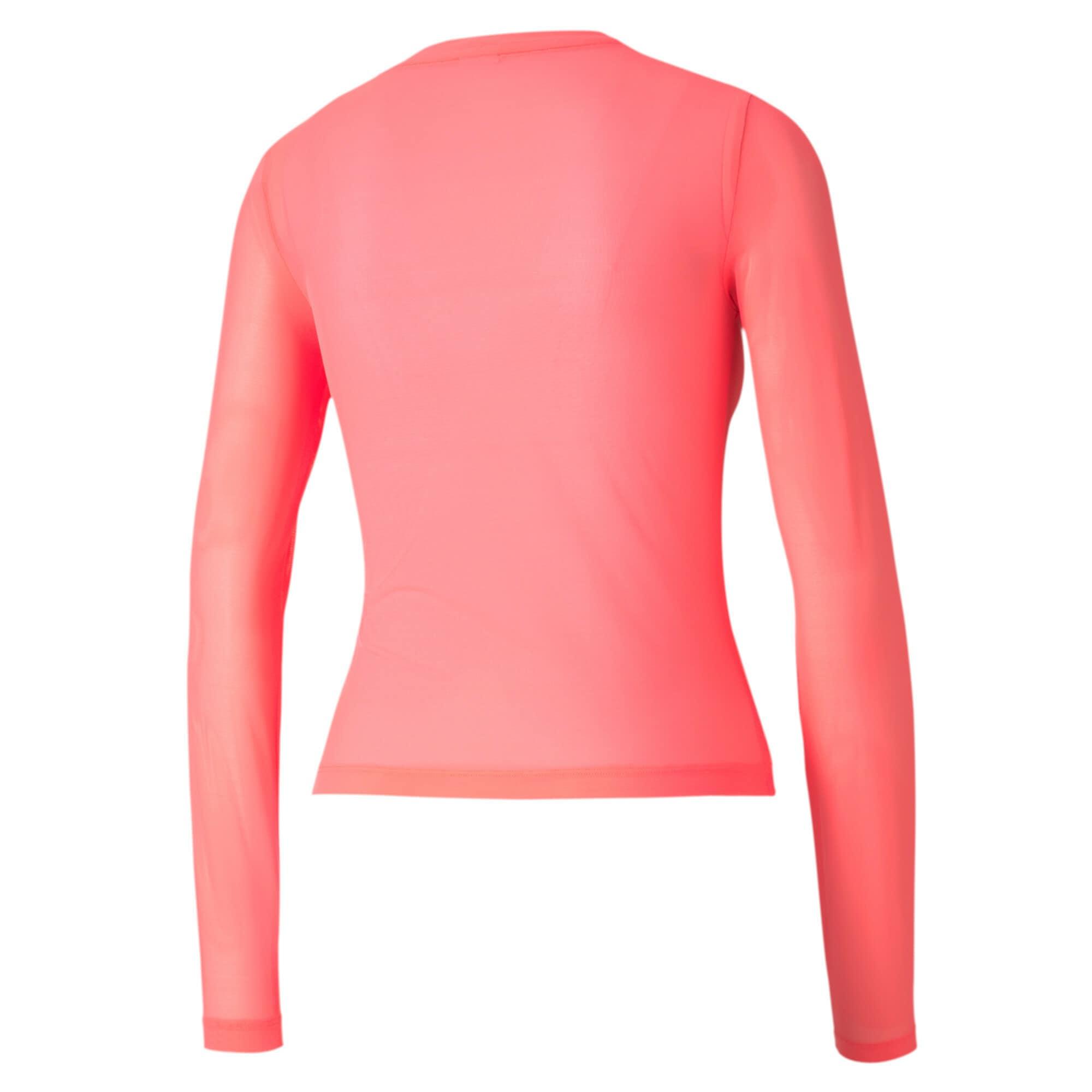 puma - Evide Damen Mesh Langarm-Shirt
