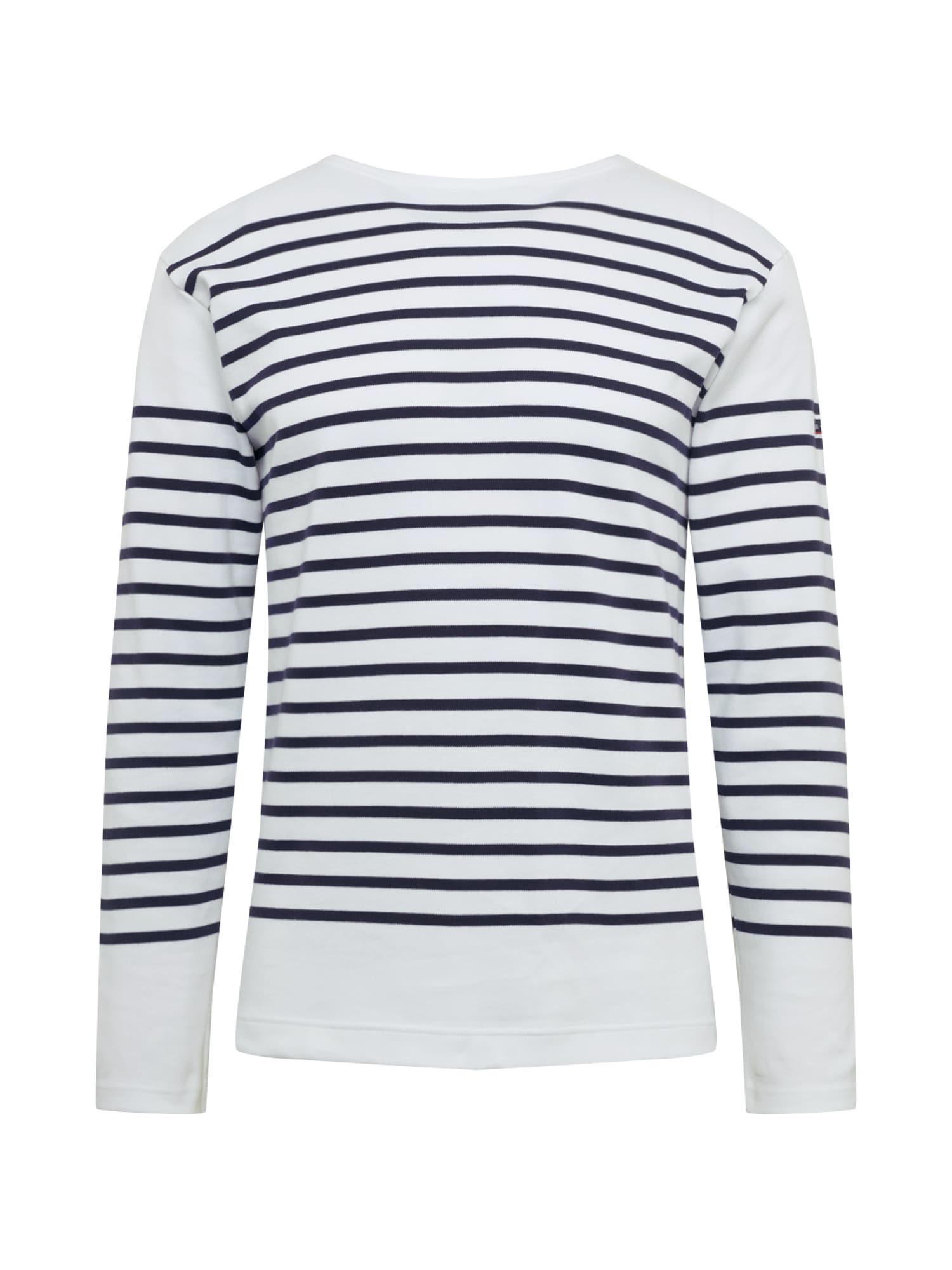 Armor Lux Marškinėliai 'Marinière Amiral Homme' tamsiai mėlyna / balta