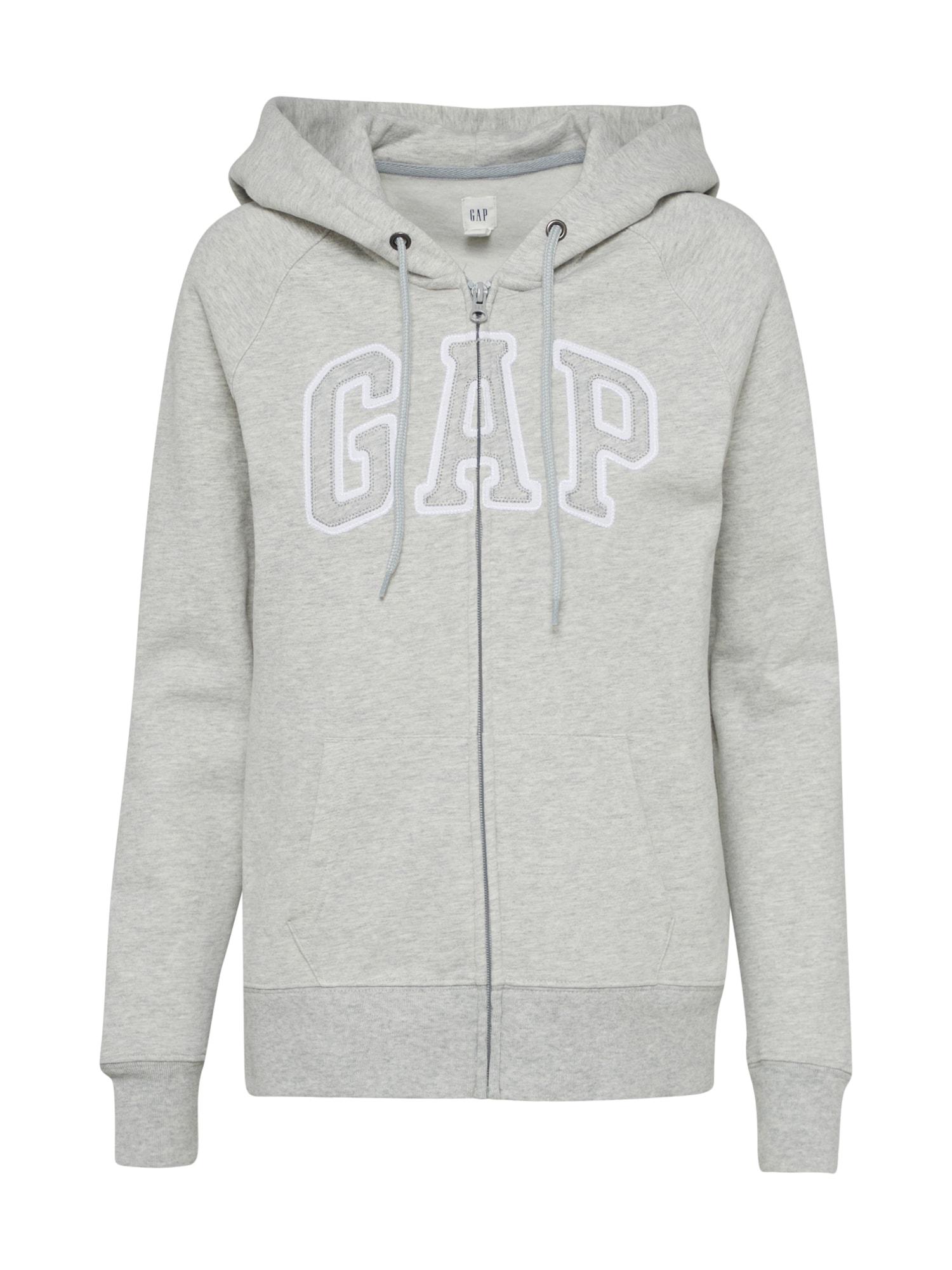 GAP Džemperis margai pilka