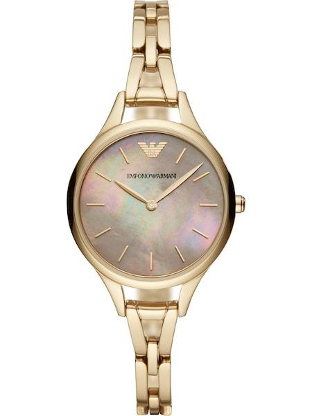 Uhren für Frauen - Emporio Armani Damenuhr gold mischfarben  - Onlineshop ABOUT YOU