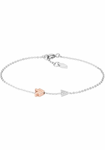 Armbaender für Frauen - FOSSIL Armband 'STERLING SILVER, JFS00427998' rosegold silber weiß  - Onlineshop ABOUT YOU