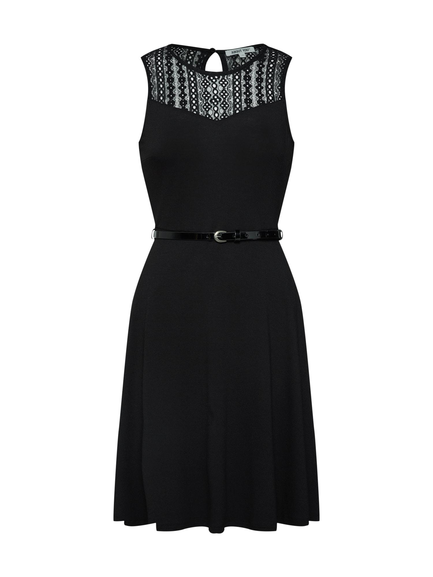 Šaty Felice černá ABOUT YOU