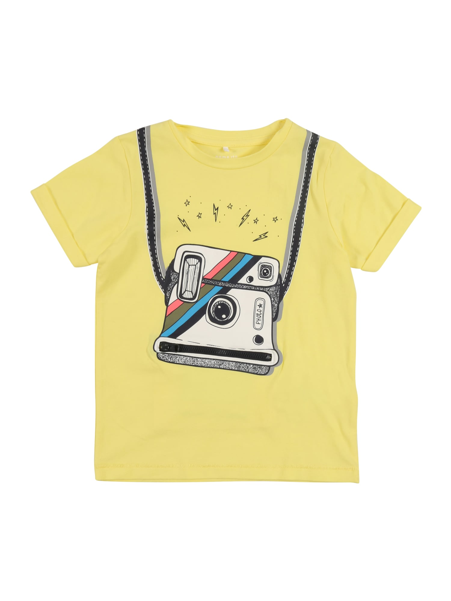 NAME IT Tričko 'Fakko'  žlté / zmiešané farby