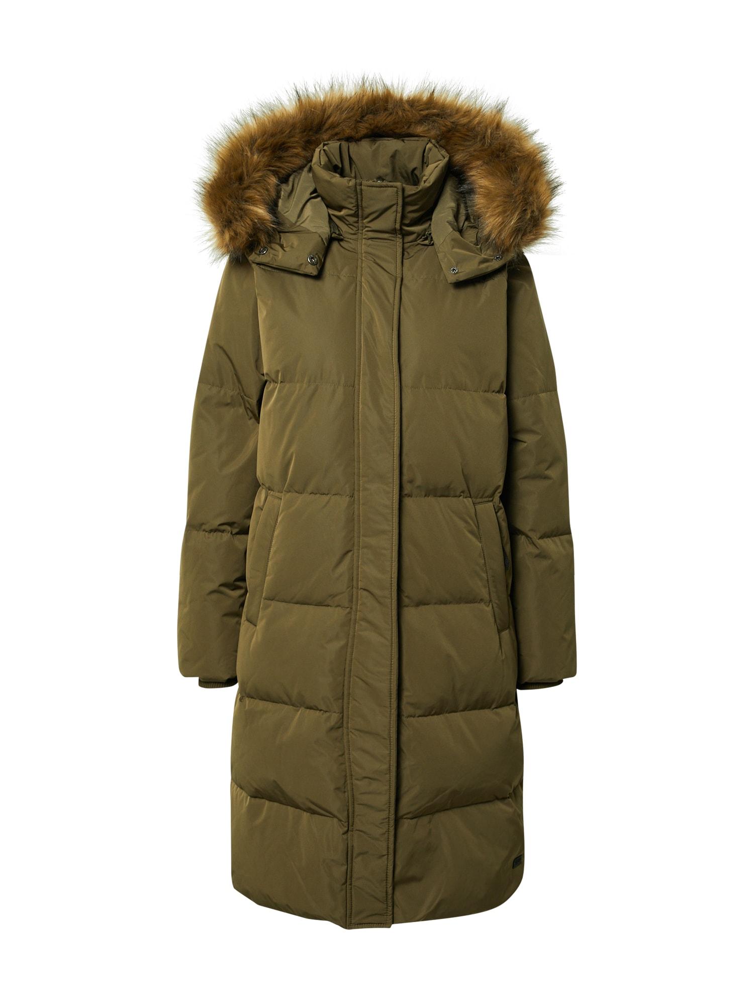 MOSS COPENHAGEN Žieminis paltas žalia