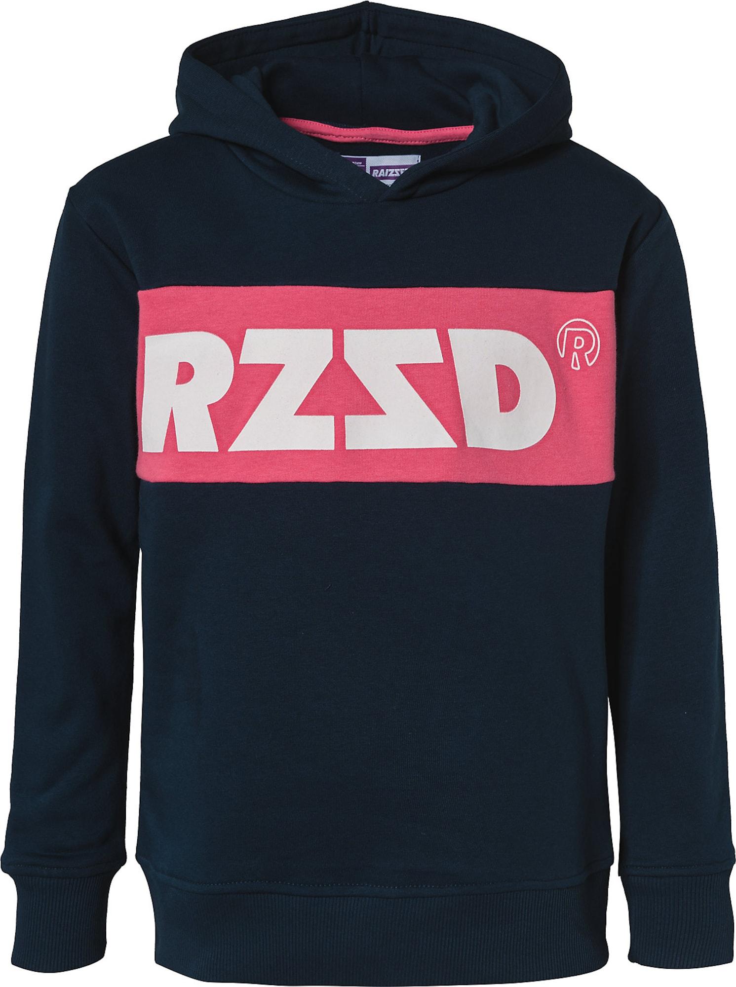 Raizzed Megztinis be užsegimo raudona / balta / tamsiai mėlyna
